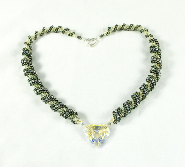 Love Sparks! Crystal Heart Necklace