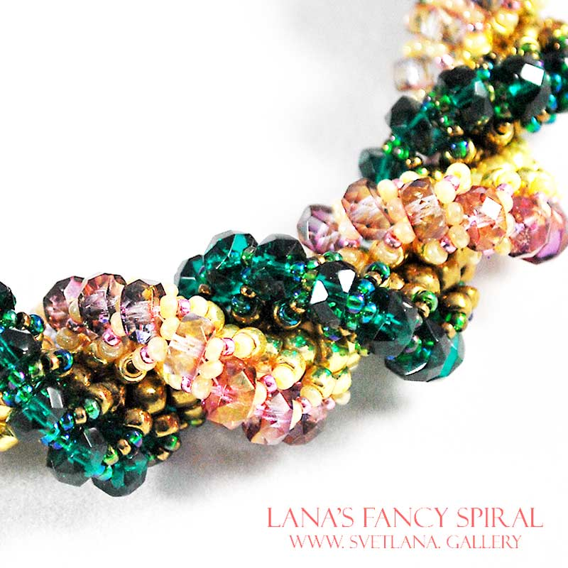 Lana S Fancy Spiral Bead Pattern And Tutorial